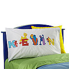 Sesame Street Personalized Character Alphabet Pillowcase
