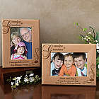 Personalized My Grandma and Grandpa Wooden Picture Frame
