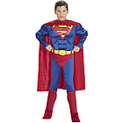 Superman Deluxe Child Costume with Muscle Chest