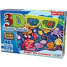 Singin' Sea Creatures Puzzle with 3D Glasses