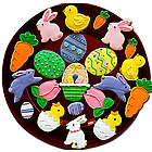 Decorated Assortment of Easter Sugar Cookies