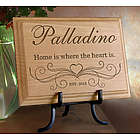 Personalized Our Family Wooden Plaque