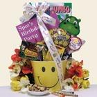 Happy Birthday Smiles Kid's Birthday Gift Basket