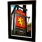 Personalized Golden Lion Pub Sign