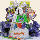 Kids Happy Birthday Wishes Gift Basket