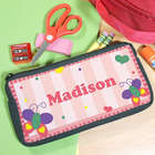 Personalized Beautiful Butterfly Pencil Case