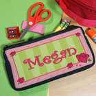 Personalized Lovely as a Rose Pencil Case