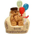 Personalized Graduation Teddy Bear in a Chair