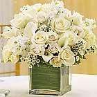 All White Floral Arrangement