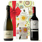 Cookies and Wine Birthday Gift Basket
