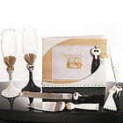 Black Tie Wedding Set