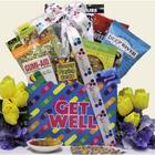 Humor and Tunes Get Well Gift Basket for Teens