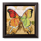 Personalized Butterflies Framed Print
