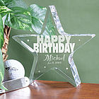 Personalized Happy Birthday Plaque
