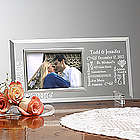 Personalized Our Life Together Glass Picture Frame