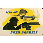 Both Barrels Sign