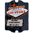 Personalized Las Vegas Nighttime Vintage Sign