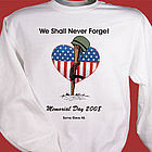 Memorial Day Personalized Sweatshirt
