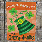 Personalized Irish Family Welcome Garden Flag