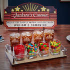 Home Theater Marquee Custom Movie Night Serving Set