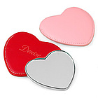 Heart Mirror with Pouch