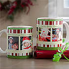 Personalized Christmas Coffee Mug with Photos