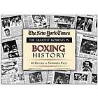 Boxing History Great Moments Newspaper Reprint