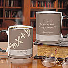 Teaching Profession Personalized Coffee Mug with Black Handle