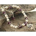 Flower Girl or Bridesmaid Bouquet Bracelet