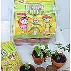 Deluxe TickleMe Plant Greenhouse Garden Kit