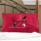 Personalized Skateboard Pillowcase