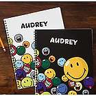 Kid's Personalized Smiley Face Notebooks