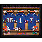 Personalized Florida State Gators Locker Room Framed Print