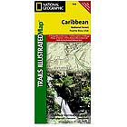 Caribbean National Forest Trail Map