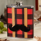 Lumberjack Flannel Hip Flask