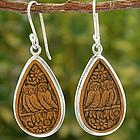 Song of the Night Mate Gourd Dangle Earrings