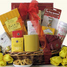Tea Treasures Medium Gourmet Tea Gift Basket