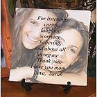 Personalized Thank You for Loving Me Photo Canvas
