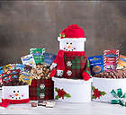Deluxe Ghirardelli Chocolate Snowman Gift Tower