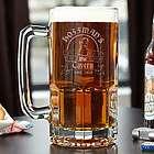 Bombshell Barmaid Personalized Colossal Beer Mug