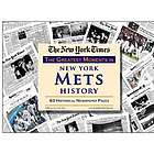 New York Mets History Newspaper Replica