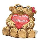Kissing Bear Couple Personalized Figurine