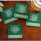 Irish Famous Quotes Personalized Coaster Set