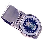 US Air Force Military Service Hinged MoneyClip