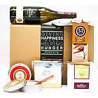Cheese, Crackers, Chocolate and Wine Gift Box