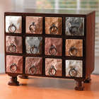 12 Drawer Miniature Chest