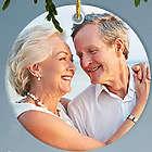 Personalized 50th Anniversary Photo Ornament