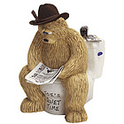 Personalized Cowboy Daddy's Quiet Time Figurine