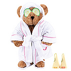 "15"" Spa Day Teddy Bear with Gourmet Tea"