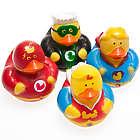 Super Hero Rubber Ducks